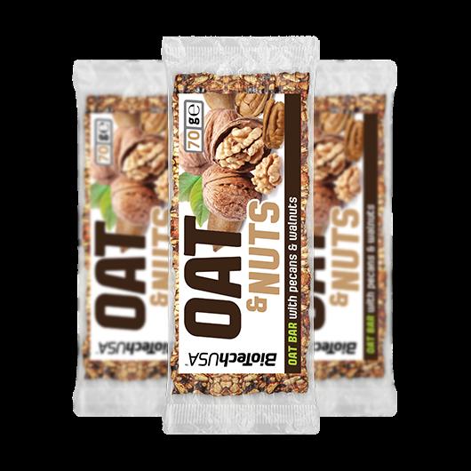 OAT & Nuts - 70 g pekándió 10 db/csomag