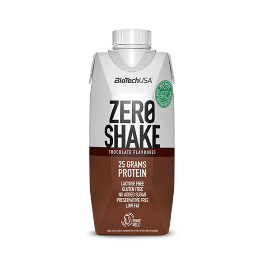 Zero Shake fehérjeital 330 ml csokoládé 15 db/karton