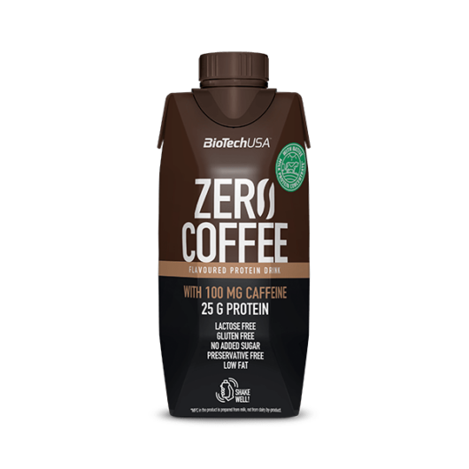 Zero Coffee fehérjeital 330 ml caffé latte 15 db/karton