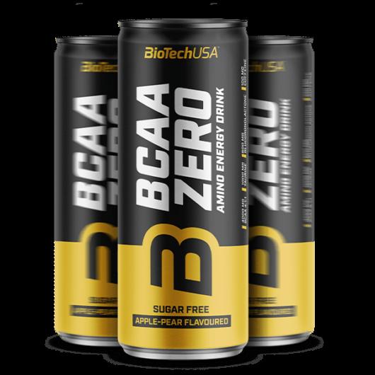 BCAA Zero Amino Energy Drink - 330 ml málna-lime 24 db/karton