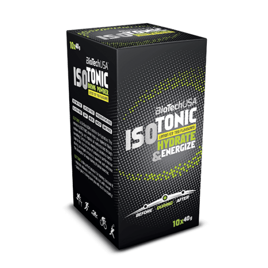 IsoTonic - 10x40g citromos ice tea