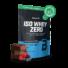 Kép 18/18 - Iso Whey Zero prémium fehérje papírzsákban - 1816 g berry brownie