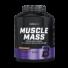 Kép 1/2 - Muscle Mass szénhidrát- és fehérjetartalmú italpor - 4000 g vanilia