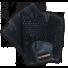 Kép 2/5 - Phoenix 1 horgolt fekete kesztyű XL